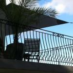 une voile sur balcon en auvent à Rennes 35