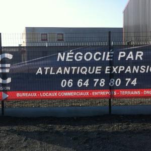 Bâche imprimée 44 Atlantique Expansion