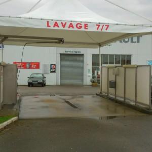 Bâche pour Station de Lavage dans le 44