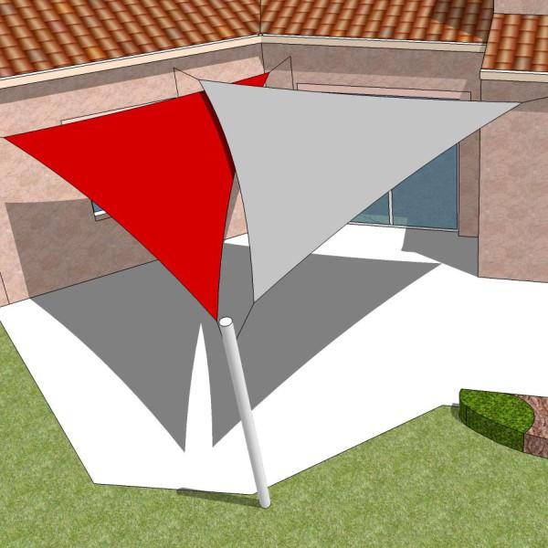 Simulation 3D toiles tendues 44 près de Nantes