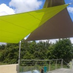 Voiles d'ombrage Nantes en triangles 44