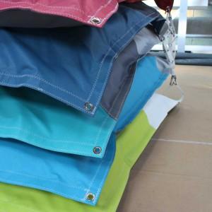 Coussin Zen TDO – tissu français 400gr/m² – Couleur garantie 5 ans aux UVs
