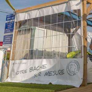 Bâche fermeture 44 fermée – bache près de Nantes et Pornic